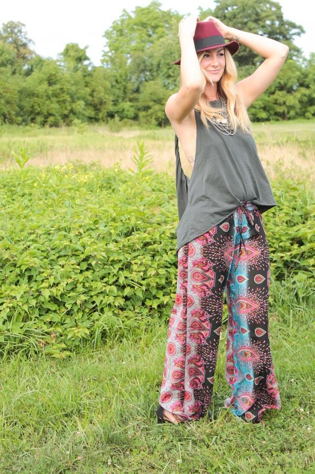 the rachel ross palazzo pants