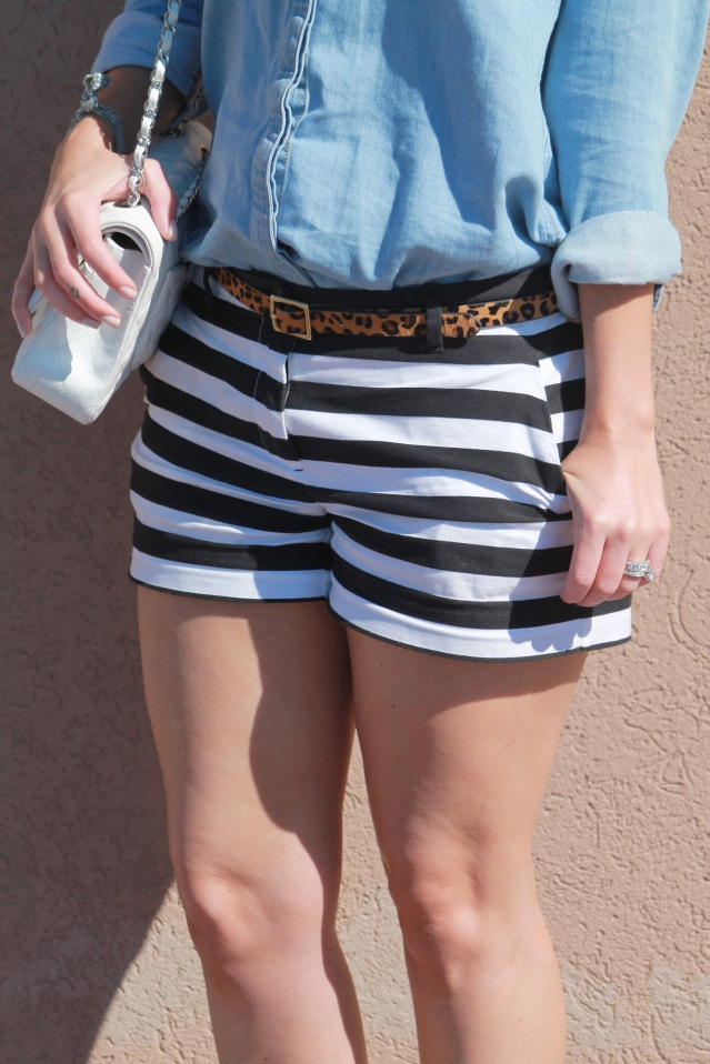 GAP striped shorts