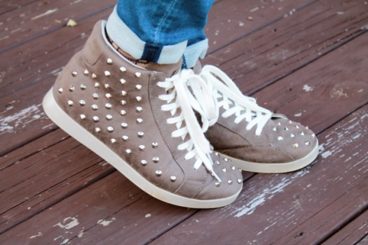 target studded sneakers