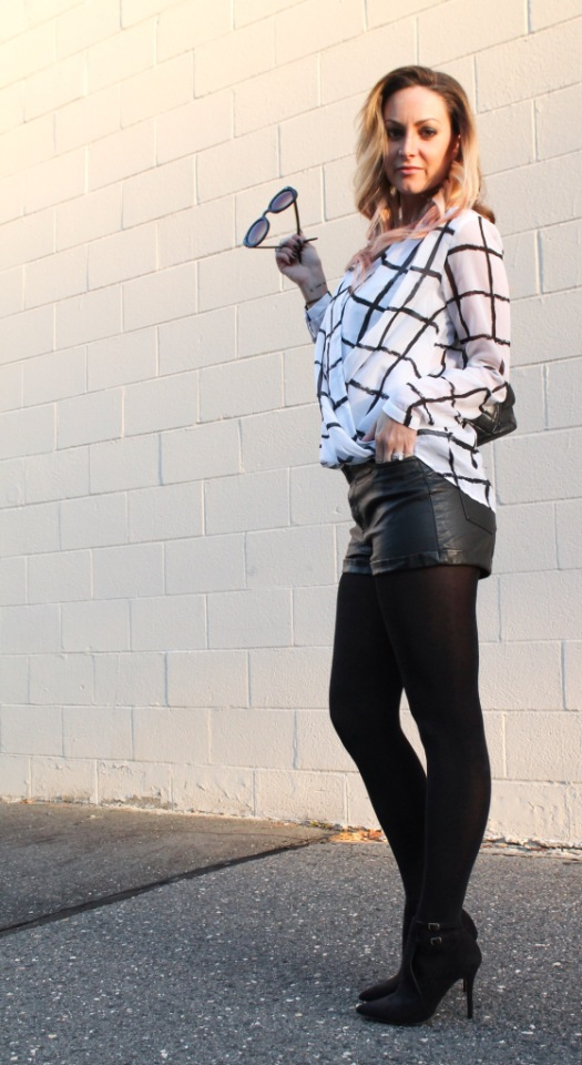 window pane print top the rachel ross