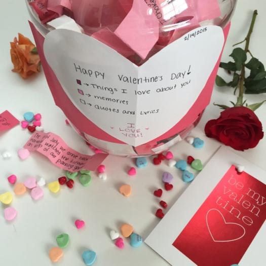 DIY romantic presents