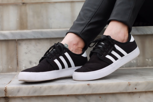 adidas seeley black