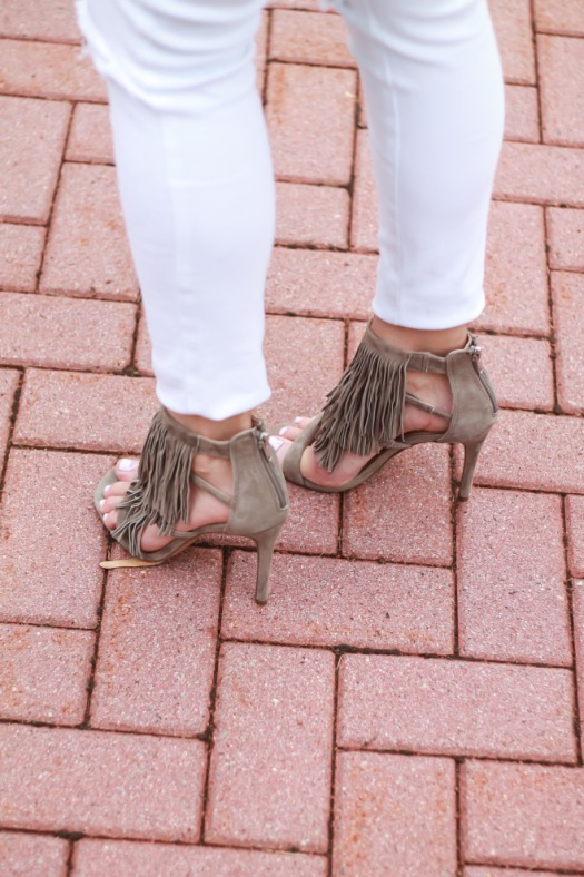 steve madden fringe shoes